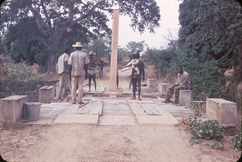 AF-148 Dahomey Bridge built while waiting1968