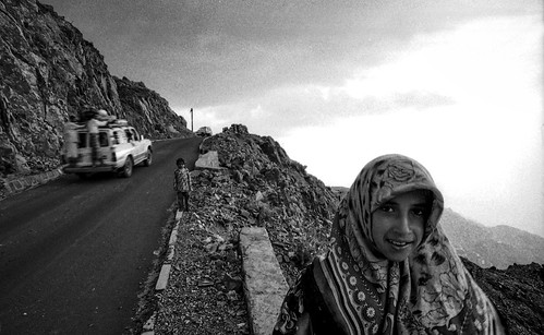 on the road above Taiz.