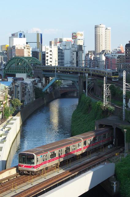 Tokyo Train Story 2013年9月12日 丸ノ内線