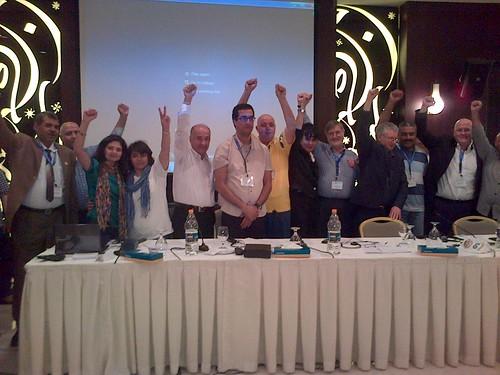 Arab world regional conference  ends