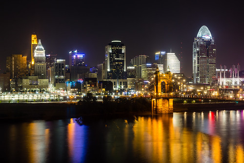 cincinnati downtownnight