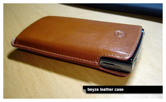 Beyza Slimline Leather Case