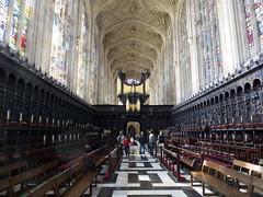 King's College Chapel Interior