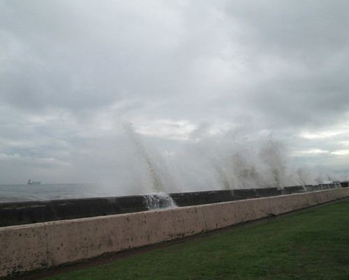 Waves, Kirkcaldy Promenade
