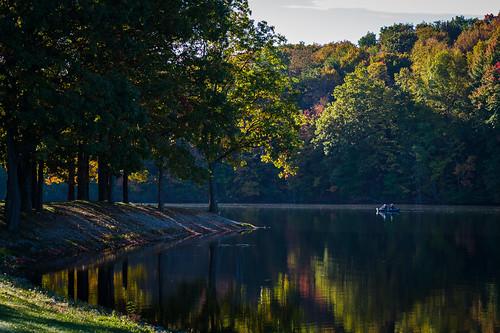 fall nature hudson ohio lake landscape unitedstates rjvtog robvaughnphoto