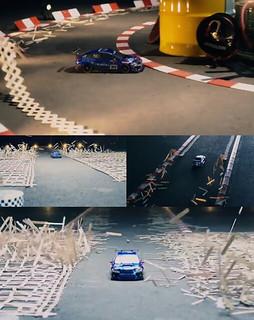 スバル スティックボムとラジコンカーラジコンカーCM