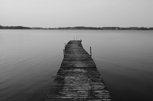 wood bridge blackandwhite bw lake nature monochrome landscape sadness wooden shadows sad sweden stockholm horizon surface boardwalk ripples sverige sorrow planks waterscape vallentuna vallentunasjön
