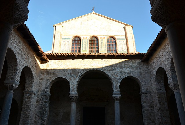 Episcopal Complex of the Euphrasian Basilica in the Historic Centre of Poreč, Croatia
