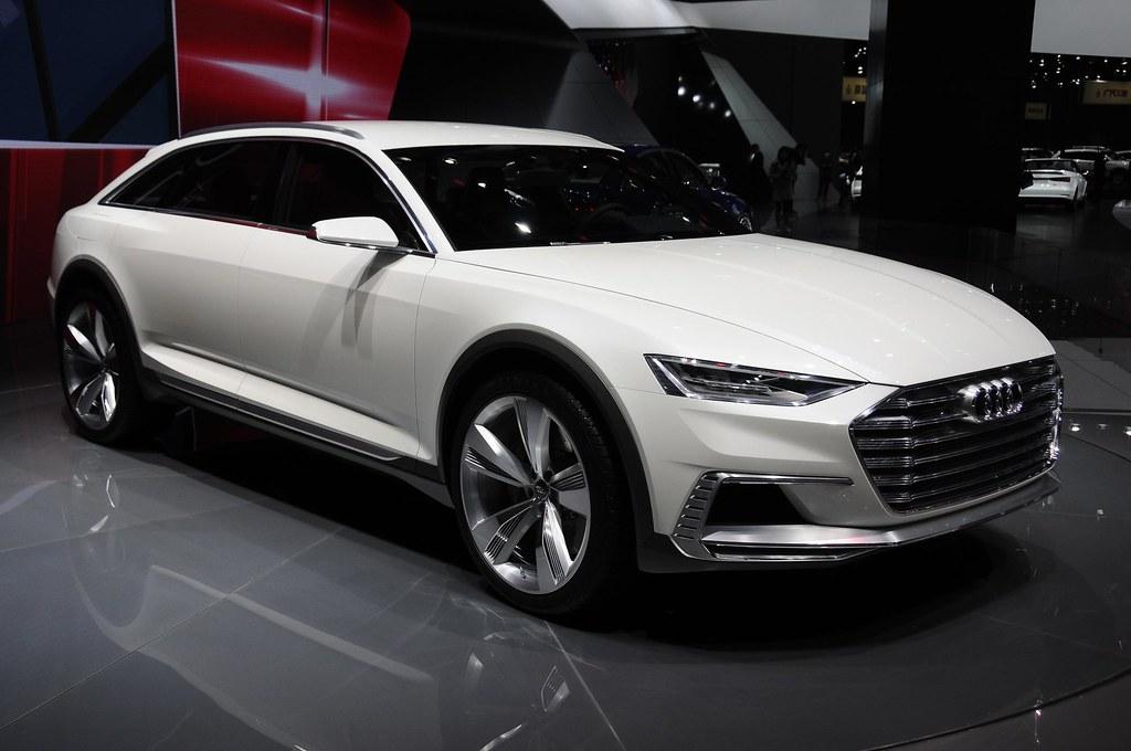 Audi prologue allroad live photos: 2015 Shanghai Auto Show