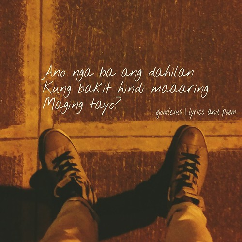 Ano nga ba ang dahilan kung bakit hindi maaaring maging tayo?