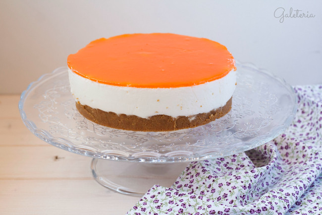 tarta de queso con zanahoria