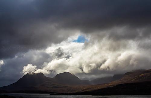 clouds dark moody loch drama atmospheric assynt coigach cloudsstormssunsetssunrises andrewmcgavin eos7dmk2