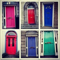 #happystuff para la puerta de casa #dublin #flashback
