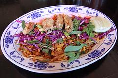 Crispy Oyster & Bacon Pad Thai, TALDE, Brookly…