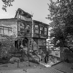 Abandoned house in Istanbul