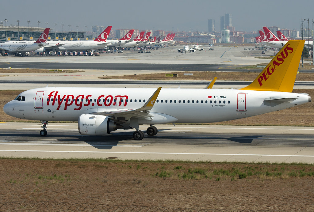 TC-NBA - A20N - Pegasus Airlines