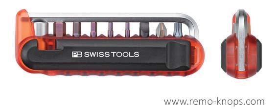 PB Swiss BikeTool and 470 Adapter - Front + Side