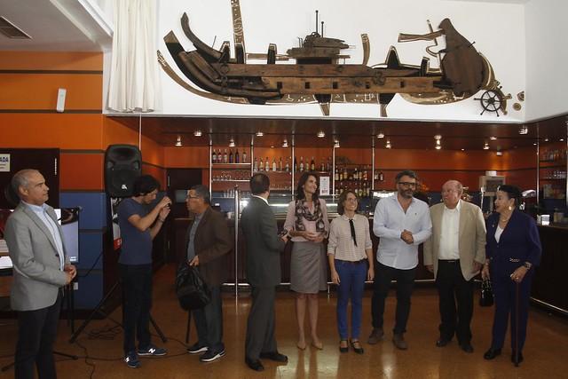 El mural de César Manrique Anatomía para un barco vuelve a brillar ...