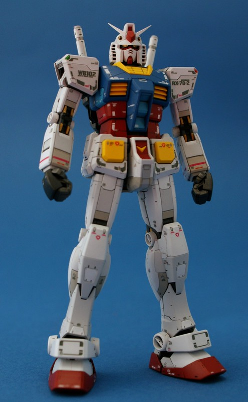 Real Grade 1/144 - RX-78-2 GUNDAM - Completed 1