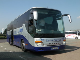 Leger Holidays - BV58MKD - Thurrock Services - 2 April 2012