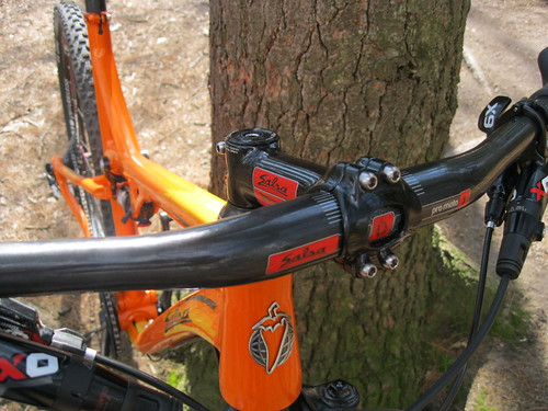 Salsa Carbon Bars + ProMoto 1 Stem