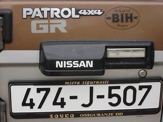 Autokennzeichen: Bosnien und Herzegowina