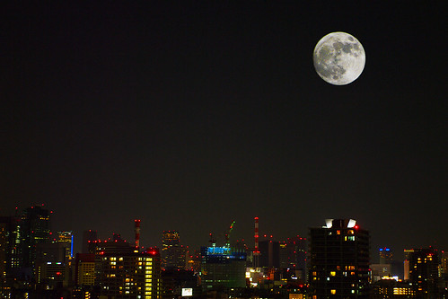 Super-moon May, 2012