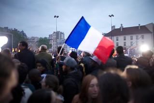6 mai 2012 - élection de François Hollande, Président de la République Française