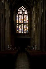 Chiaroscuro, St. Mary Recliffe, Bristol