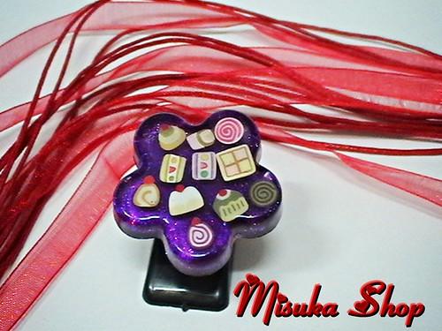 Flor Blossom Violeta Pastelitos