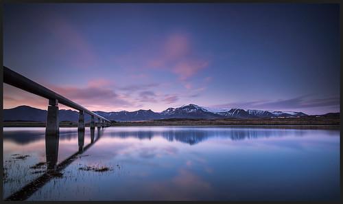 ocean sunset reflection canon river iceland l geothermal ef 1740mm f4 akranes skarðsheiði canonef1740mmf4l urriðaá canon5dmarkii canon17mmf4l grunnafjörður