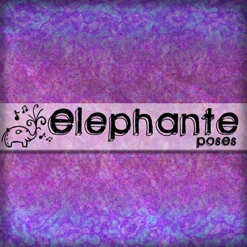 elephante Poses Logo