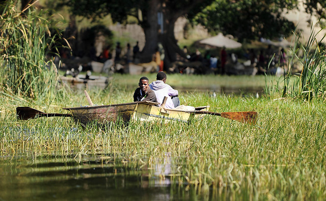 fishermen in Hawassa, Ethiopia Dec 8, 2011 by Jarad Denton, U.S. Air Force