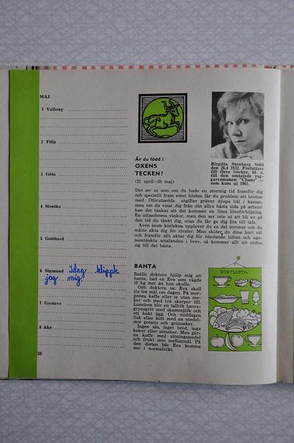 Evas kalender maj 1963