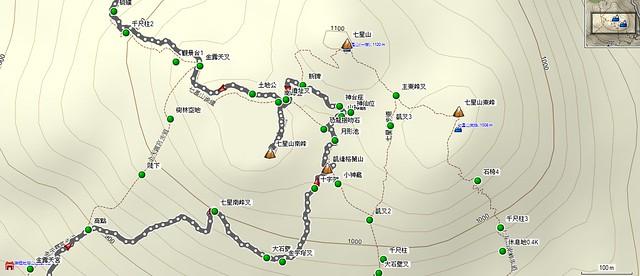 2011-12-18七星錐(月形池、恐龍接吻石、山神廟)