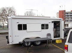 automobile, automotive exterior, commercial vehicle, vehicle, trailer, horse trailer, land vehicle, recreational vehicle, travel trailer,
