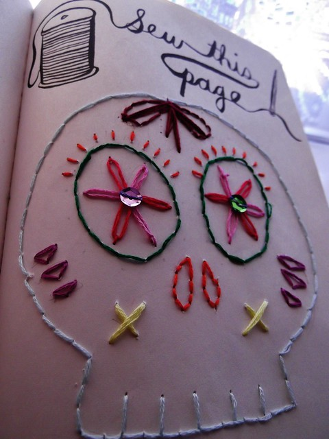 Wreck this journal...sew this page   Explore Fatally*Yours ...  Wreck This Journal Sew This Page