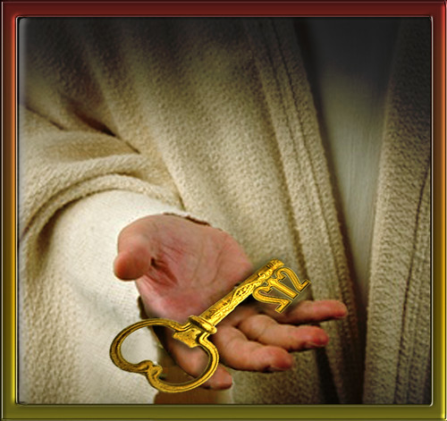 The key of Saint Peter