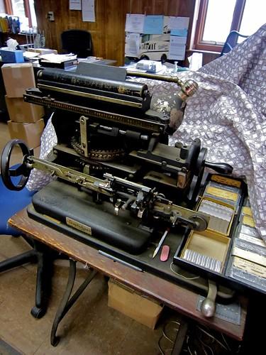 Graphotype Machine