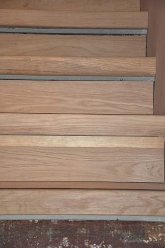 mes escaliers en cours de rénovation