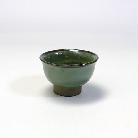 小袋定雄窯 盃/青