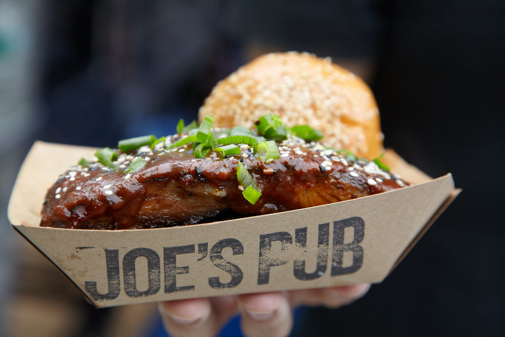 Ribs from Joe's Pub