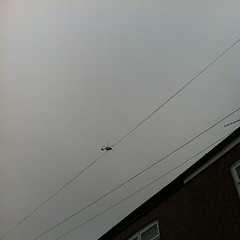 GMP helicopter circling over Swinton.