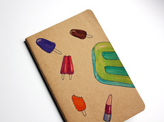 Popsicle dream notebook