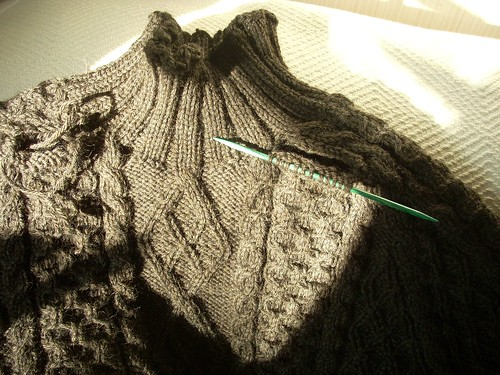 Aranish sweater by Asplund