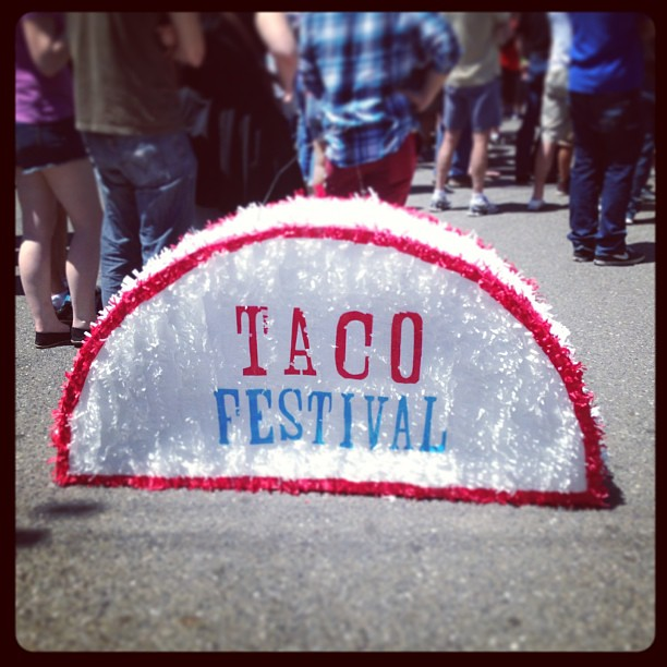 It's a beautiful day for a taco festival! #tacofest #tacos #sanjose #Saturday #igdaily #photooftheday #instagood
