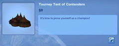 Tourney Tent of Contenders