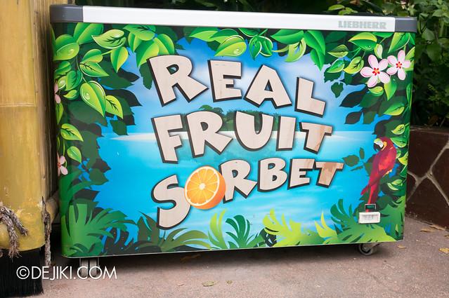 USS May Park Update - Real Fruit Sorbet