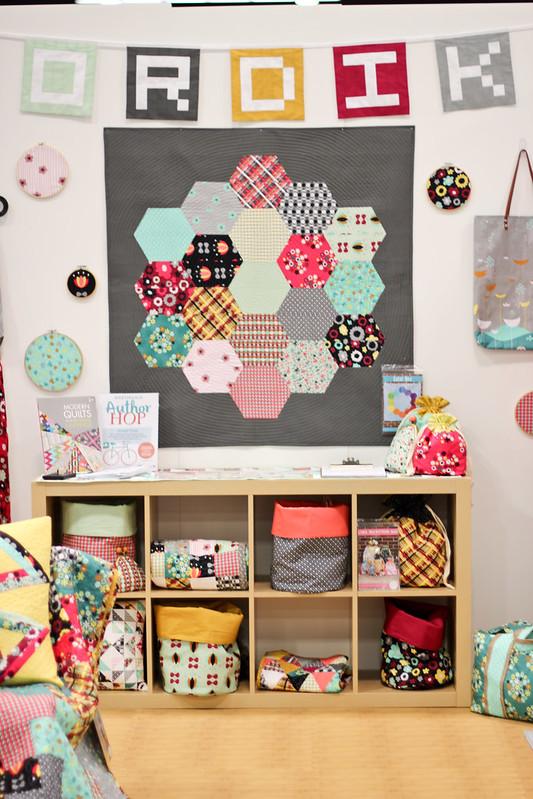 Quilt Market - Jeni Baker's Booth