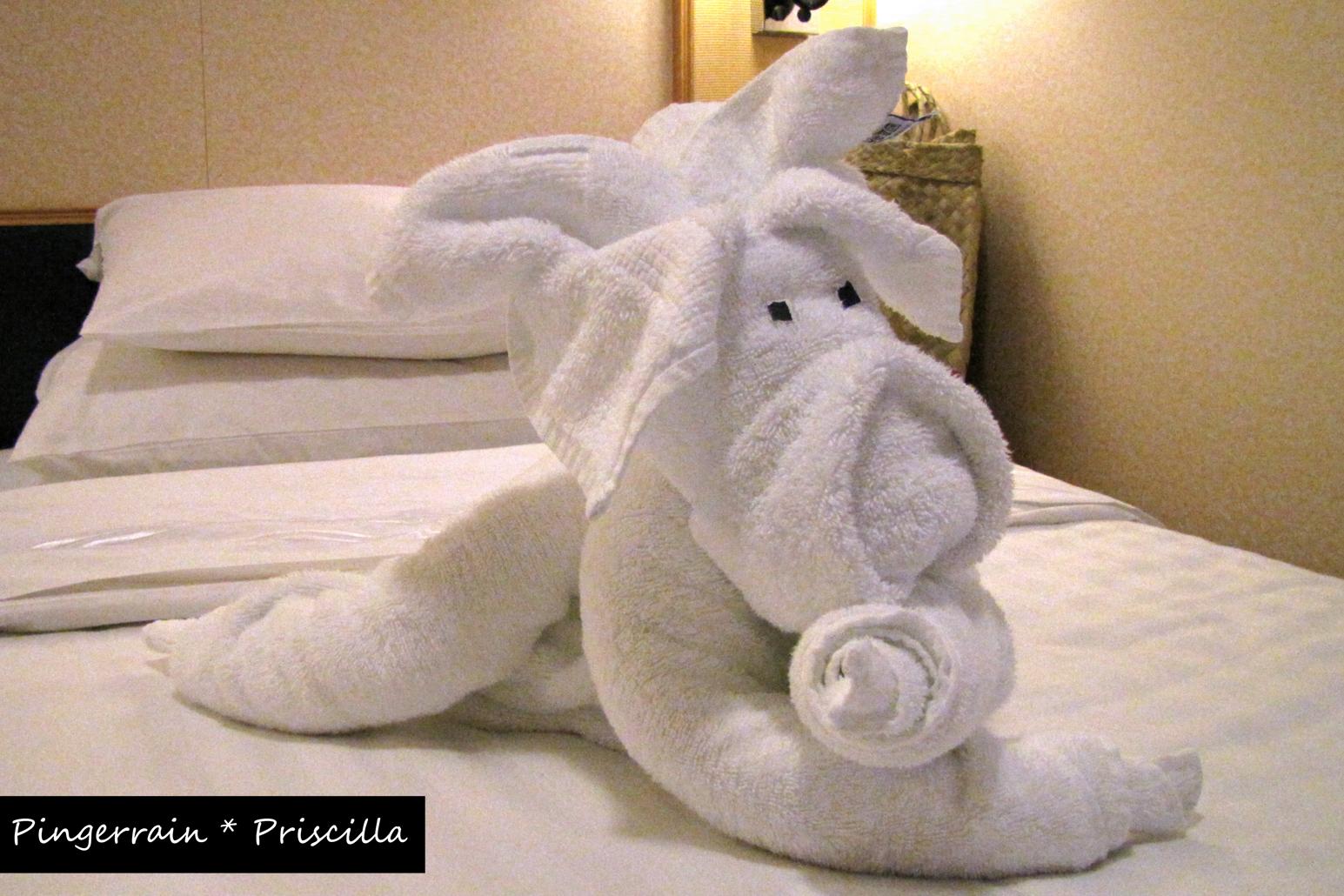 Rc Liberty Of The Seas Towel Animals Pingerrain Priscilla